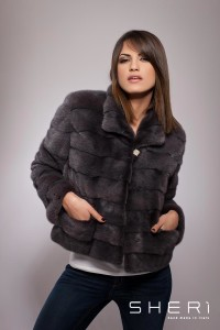 Lembo - grey mink coat - Code: 10010/1
