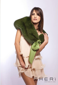 402 - Green fox shoulder cover - Code: 111