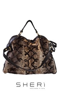 1032 - Mink bag pink python color - Code: 504
