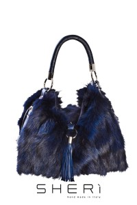1201- Blue fox bag - Code: 512