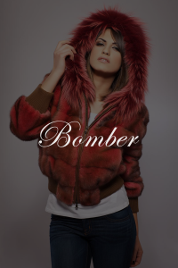 Bomber SHERì Pellicce Hand Made in Italy