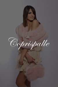 Coprispalle SHERì Pellicce Hand Made in Italy - Fur Fashion