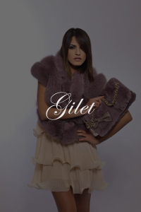 Gilet SHERì Pellicce Hand Made in Italy - Fur Fashion