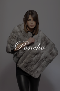 Poncho SHERì Pellicce Hand Made in Italy - Fur Fashion