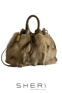 Secchio - brown Fox bag - Jolie Collection