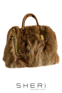 Shopping - brown Fox bag - Jolie Collection