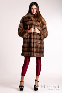 G-04 - brown Sable coat - Jolie Collection