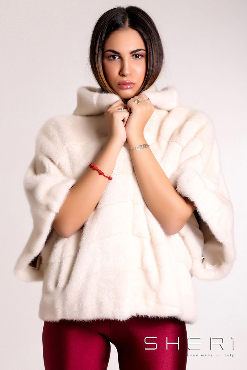 capes - sher u00ec fur hand made in italy