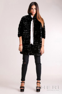 G-03 - black Mink coat - Jolie Collection